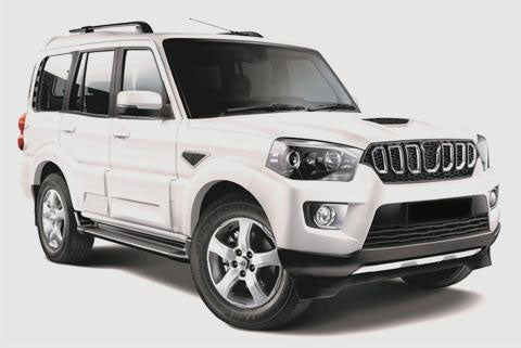 New Mahindra Scorpio Facelift