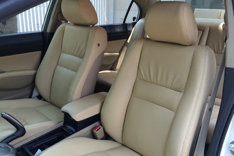 Nappa Bucket Leather Car Seat Covers