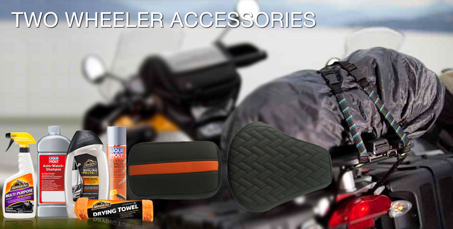Bajaj CT100 Accessories | Bajaj CT100 Seat Cover | CT100 Biking Gear