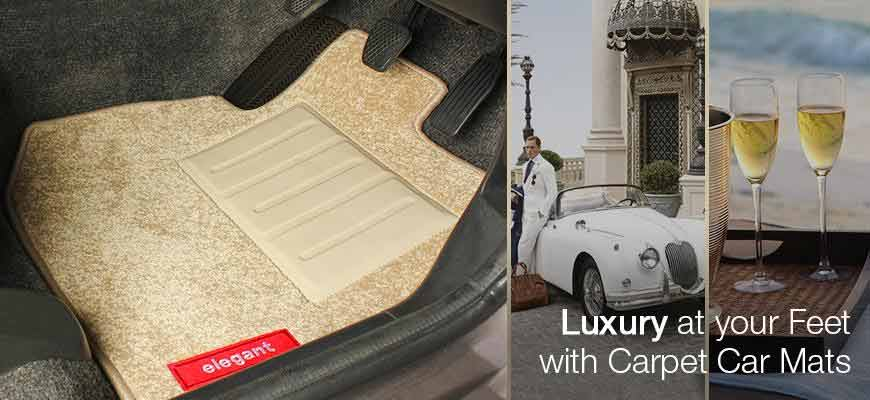 luxury carpet car floor mats