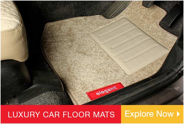 Full Black Carpet Floor Car Mats with Coloured Border For All MG Models Vehicle Parts & Accessories