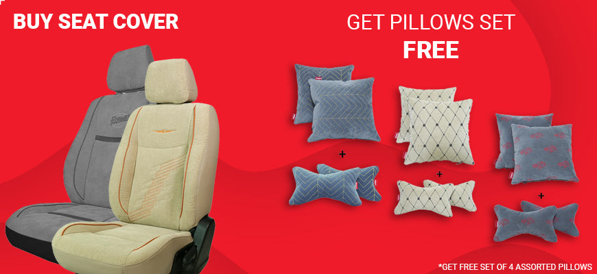 Elegant Comfy Seat Cover with Free Gift