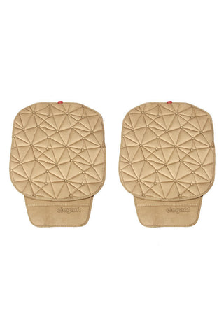 Space CoolPad Car Seat Cushion Beige (Set of 2)