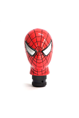 Spider Man Gear Knob Red