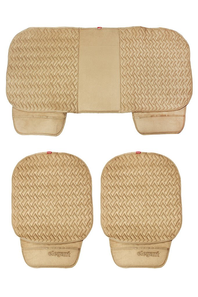 Caper Cool Pad Car Seat Cushion Beige (Set of 3)