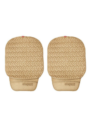Caper Cool Pad Car Seat Cushion Beige (Set of 2)