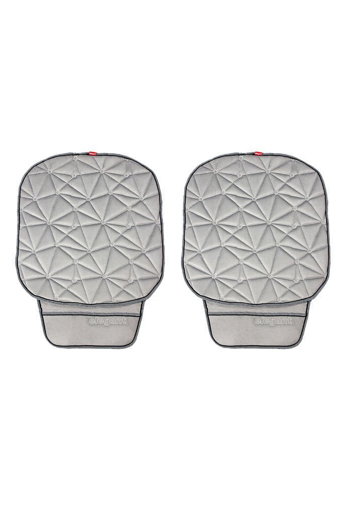 Space CoolPad Car Seat Cushion Grey (Set of 2)