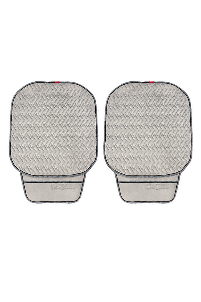 Caper Cool Pad Car Seat Cushion Grey (Set of 2)