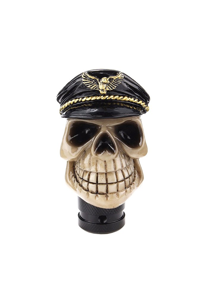 Sailor Skull Gear Knob Cream and Black