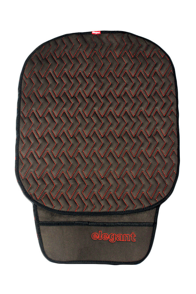 Caper Cool Pad Car Seat Cushion Black and Red (For Driver)