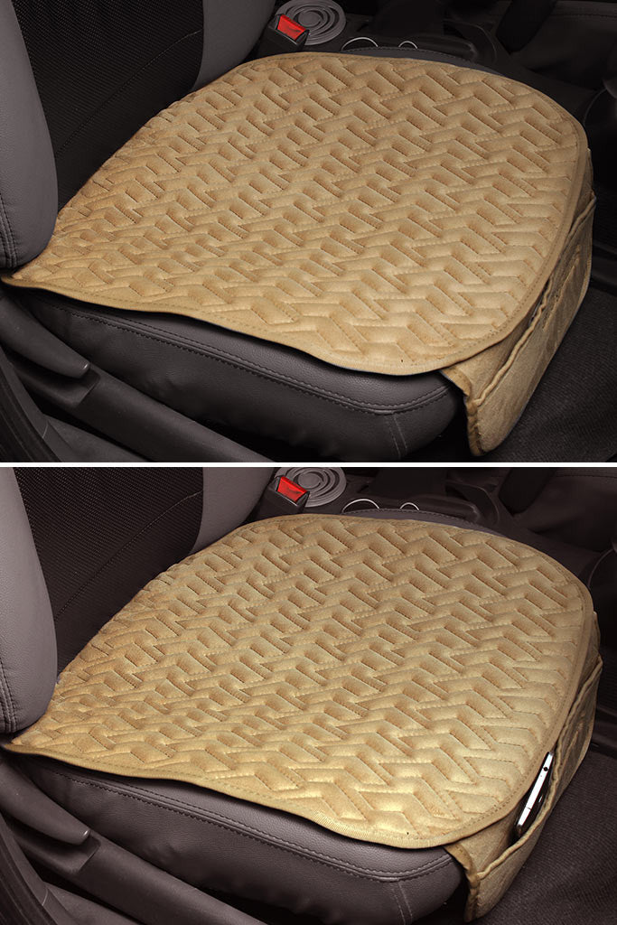 Caper Cool Pad Car Seat Cushion Beige (For Driver)