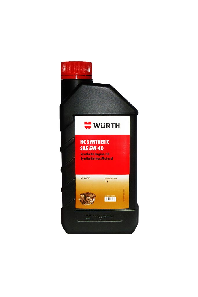 Wuerth Engine Oil 5W-40 API SM-1L