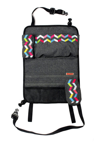 Rainbow Car Back Seat Organizer