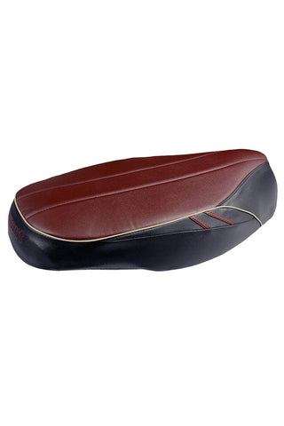 Verve Style Scooter Seat Cover Black and Plum