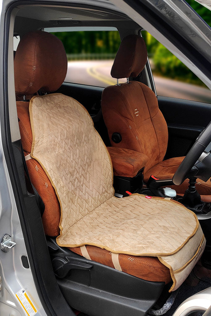 Caper CoolPad Full Car Seat Cushion Beige (For Driver)