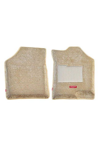 Carpet 3D Car Floor Mat Beige (Set of 2)