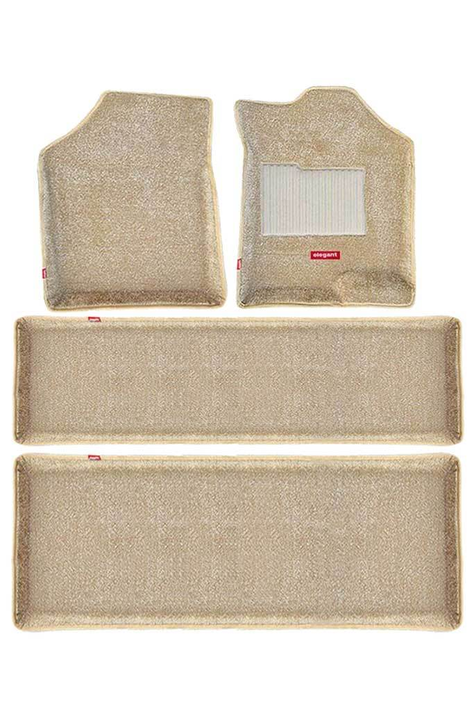 Carpet 3D Car Floor Mat Beige (Set of 4)
