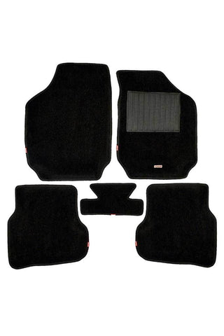 Carpet 3D Car Floor Mat Black (Set of 5)