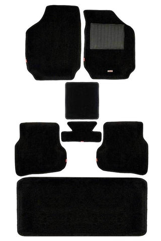 Carpet 3D Car Floor Mat Black (Set of 7)