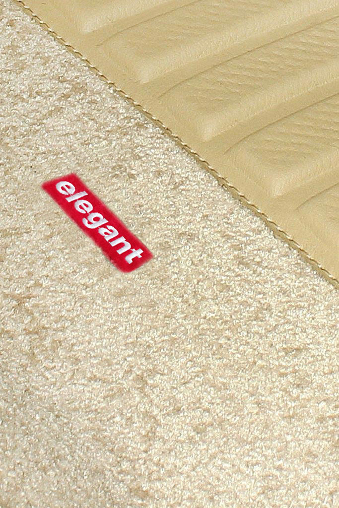 Carpet 3D Car Floor Mat Beige (Set of 5)