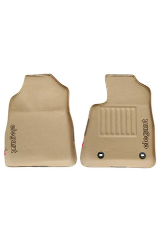 Sportivo 3D Car Floor Mat Beige (Set of 2)