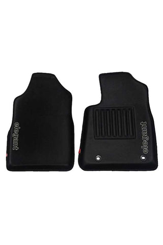Sportivo 3D Car Floor Mat Black (Set of 2)