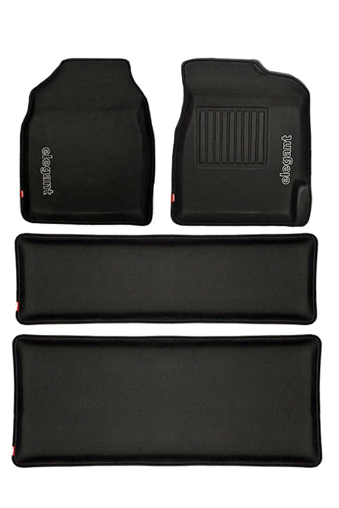 Sportivo 3D Car Floor Mat Black (Set of 4)