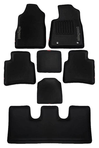 Sportivo 3D Car Floor Mat Black (Set of 7)