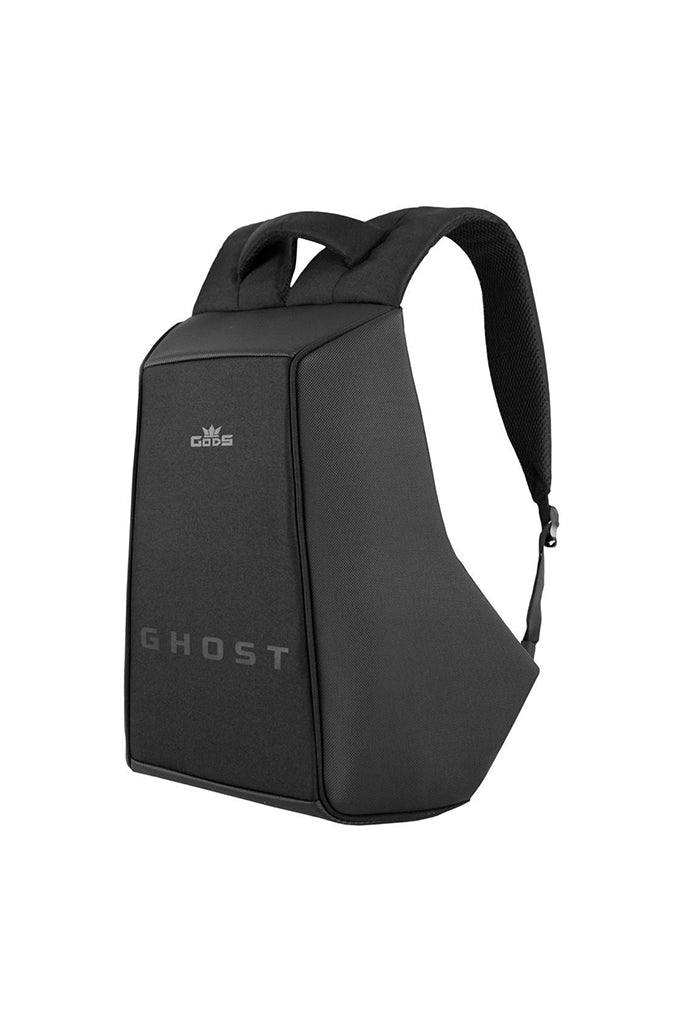 Road Gods Ghost Anti-Theft Laptop Backpack Daring Texture Black