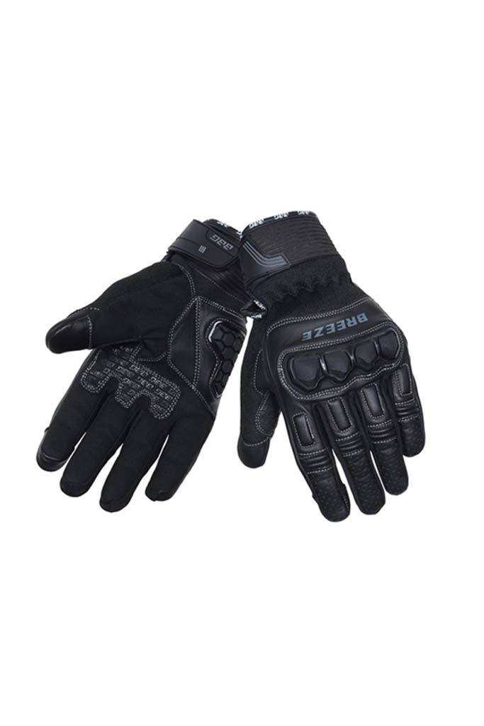 Biking Brotherhood Breeze Gloves - Black
