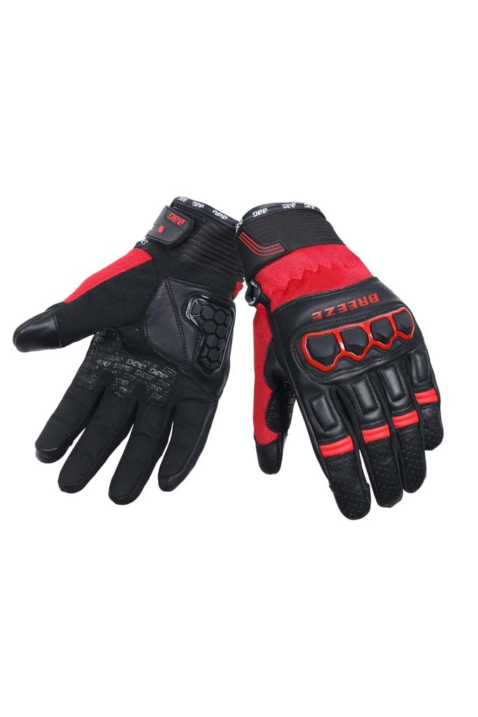 Biking Brotherhood Breeze Gloves - Red
