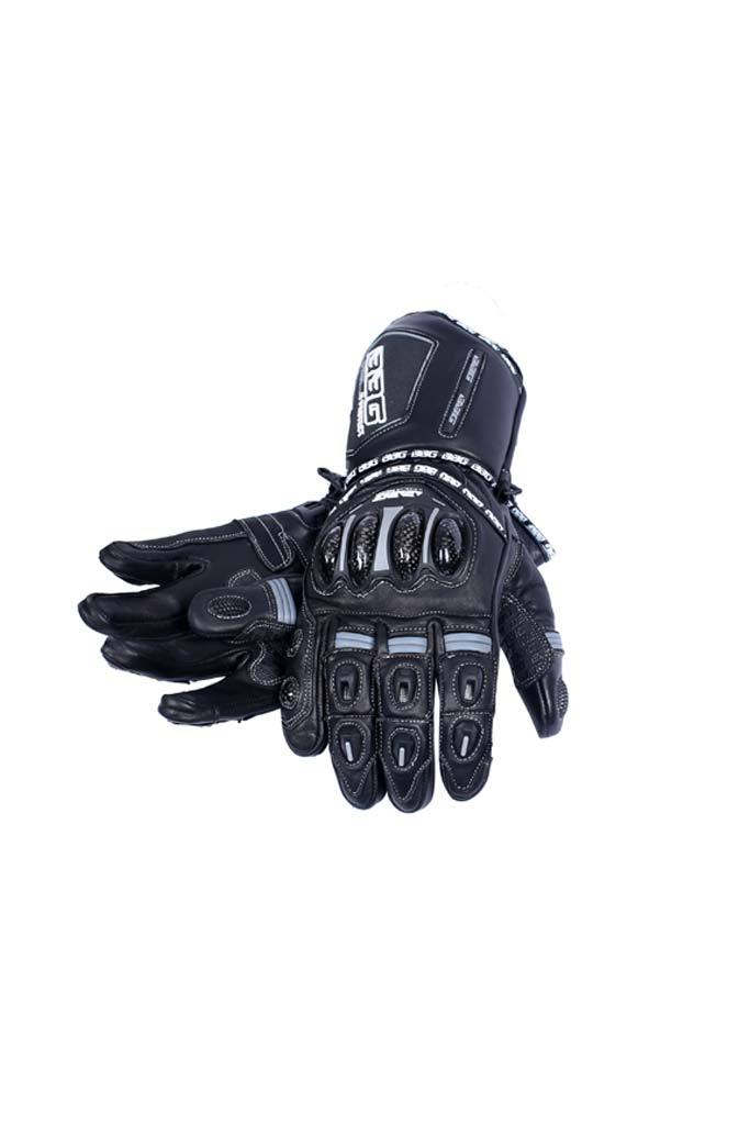 Biking Brotherhood Racer Gloves - Black