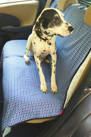Bone Dog Car Seat Protector - Rear Seat
