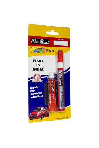Com-Paint Pen Kit Silky Midnight Black for Maruti Cars