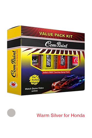 Com-Paint Value Pack Kit Warm Silver for Honda Cars