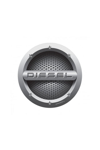 Diesel Cars Fuel Badge - Circle