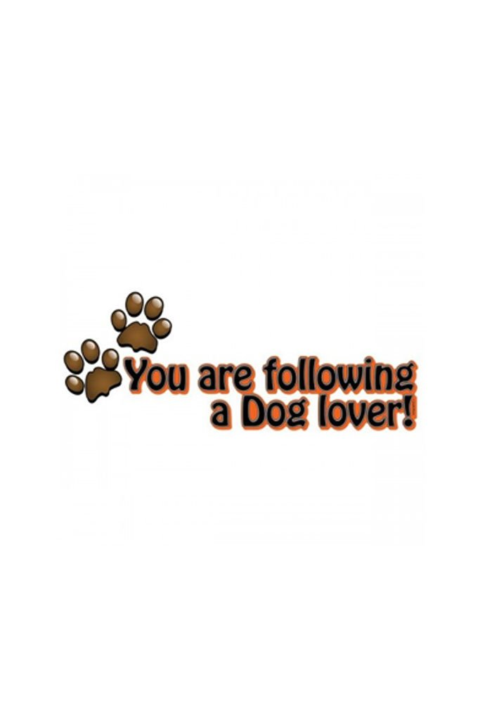 Dog Paw Lover Car Styling Graphic Decals and Stickers