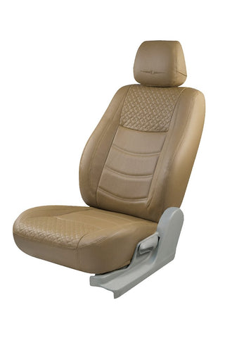 Trend Galaxy Art Leather Car Seat Cover Beige