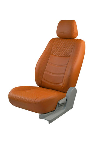 Trend Galaxy Art Leather Car Seat Cover Tan