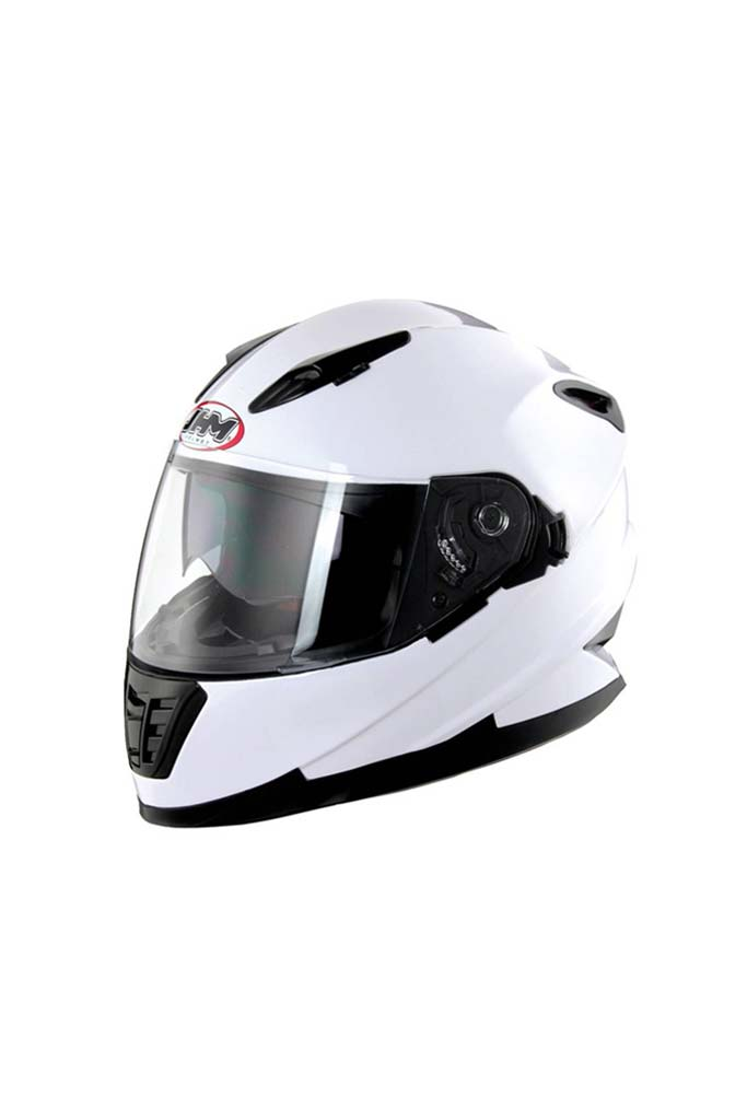Biking Brotherhood JHM White- Helmet-ST861