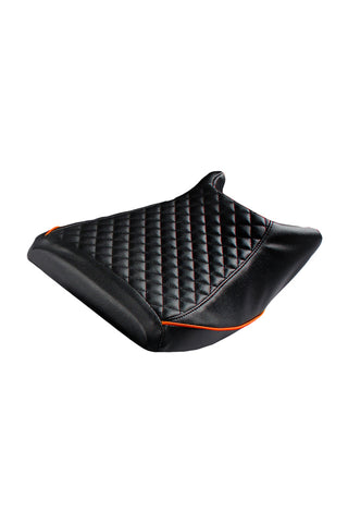 Cameo Sports Bike Seat Cover Black and Orange for KTM RC
