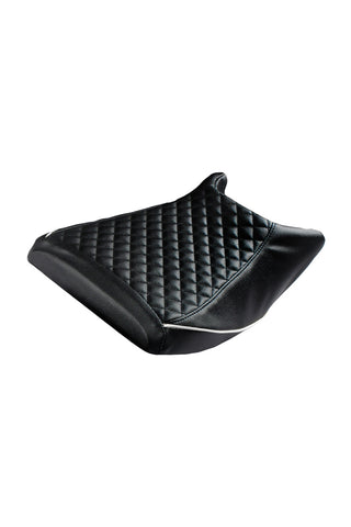Cameo Sports Bike Seat Cover Black and White for KTM RC