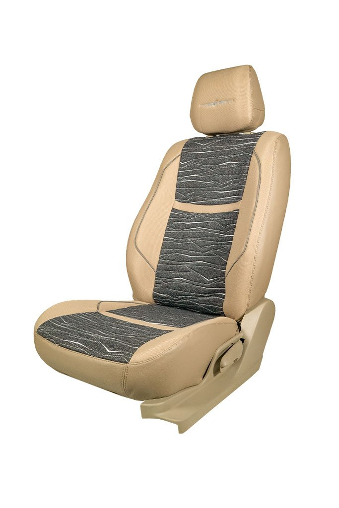 Fresco Kora Bucket Fabric Car Seat Cover Beige