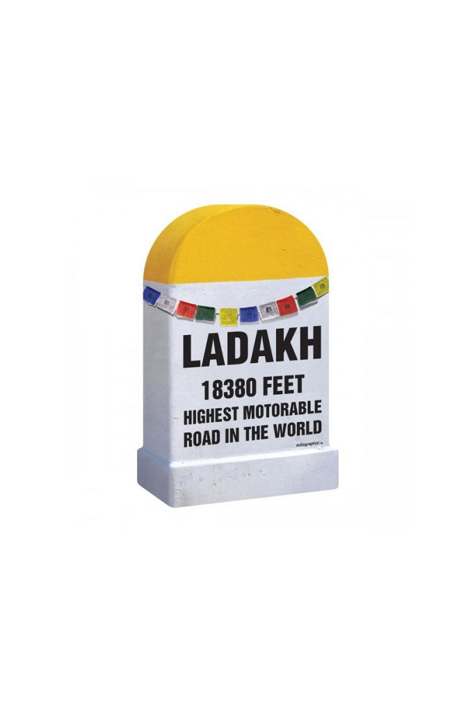 Ladakh Feet Milestone Universal Car Styling Graphic Decals and Stickers