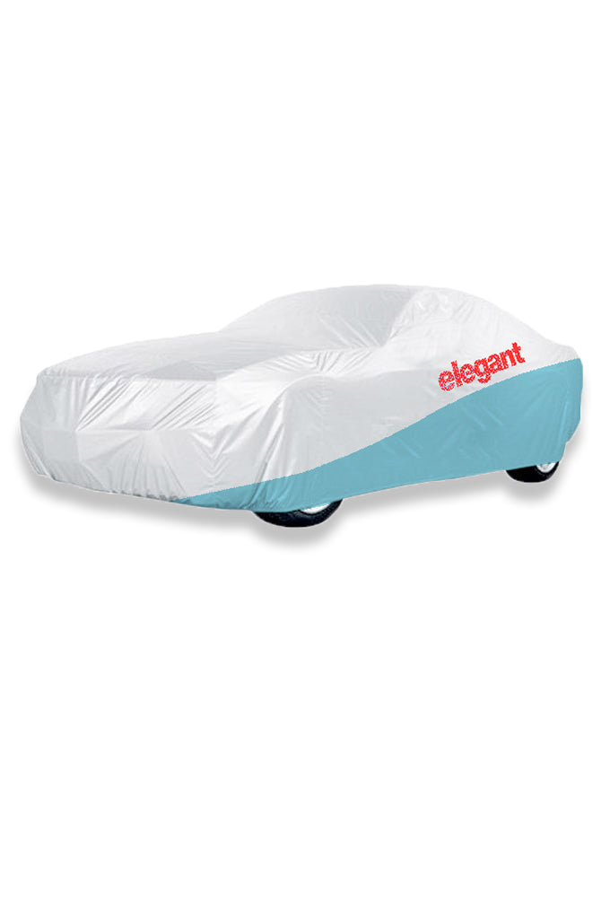 Elegant Car Body Cover WR White And Blue for Super Luxury Cars