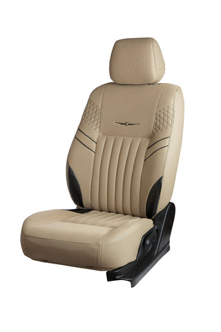 Fresco Mojo Bucket Fabric Car Seat Cover Beige