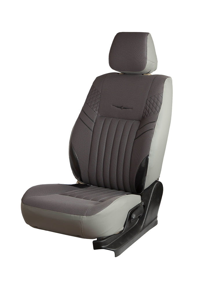 Fresco Mojo Bucket Fabric Car Seat Cover Grey