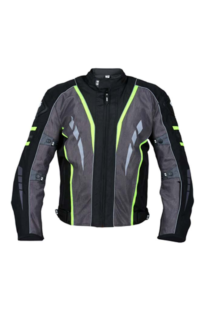 Biking Brotherhood Navigator Jacket - Fluorescent