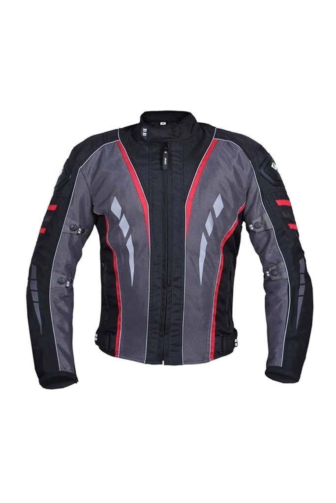 Biking Brotherhood Navigator Jacket - Red
