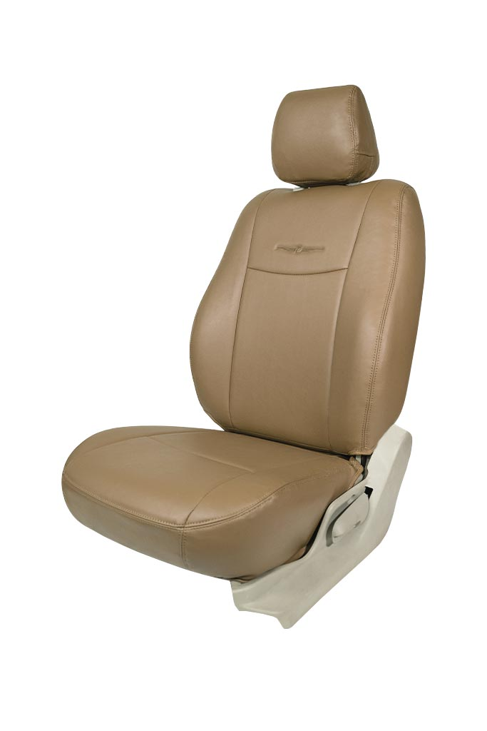 Nappa Uno Art Leather Car Seat Cover Beige